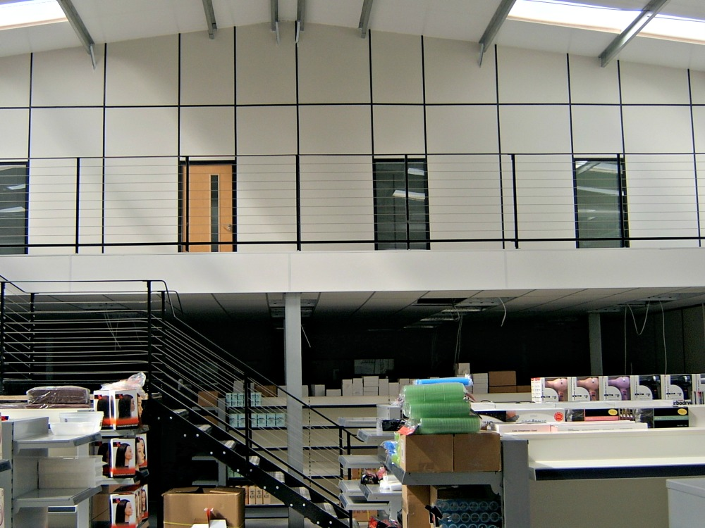 mezzanine floor installation specialists commercial industrial interiors. Black Bedroom Furniture Sets. Home Design Ideas